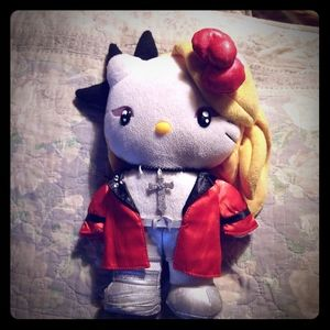 X Japan h.Naoto Yoshikitty Hello Kitty plush doll